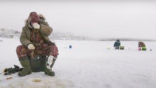 Налим как средство от короны Зимняя рыбалка в Салехарде С Полем