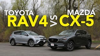 2017 Toyota RAV4 vs 2017 Mazda CX-5 Comparison