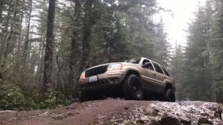 jeep wrangler grand cherokee zj wj off road trip to silver fox