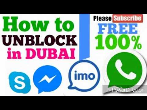 Imo what's app skype fb messenger call unblock in uae (Dubai) Urdu Hindi 100% work