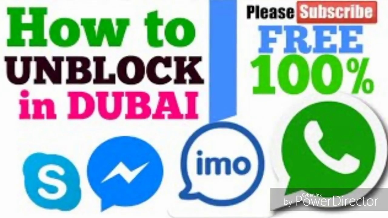 Imo what's app skype fb messenger call unblock in uae (Dubai) Urdu Hindi  100% work