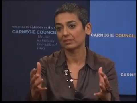 Global Ethics Forum: Zainab Salbi on Women, War, and Self-Empowerment