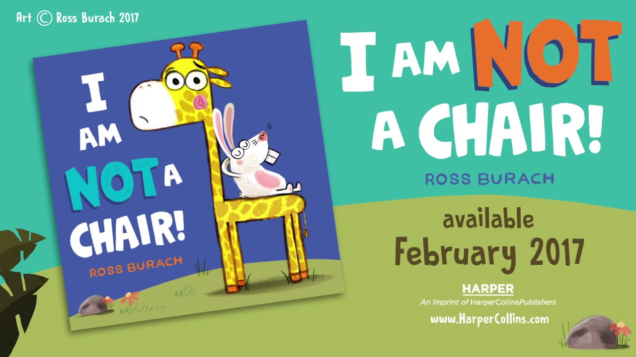 That S Another Story Learning From Picture Books I Am Not A Chair By Ross Burach