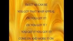 Babyface - Whip Appeal - Lyrics