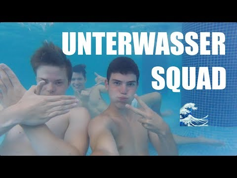 3 JUNGS 1 SCHWIMMBAD!