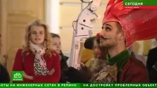 Смотреть видео О юбилейном вечере РГИСИ. Телеканал «НТВ. Санкт-Петербург», «Новости» онлайн