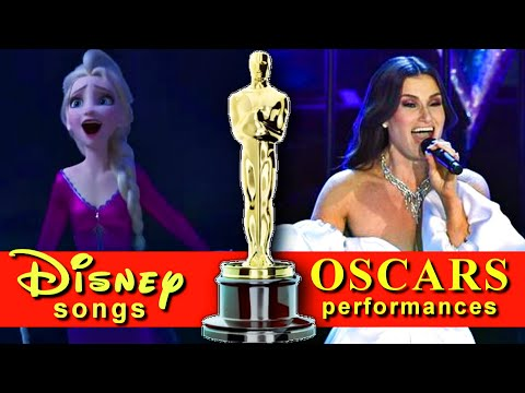 Disney/PIXAR songs - Oscars Performances (1990-2020)