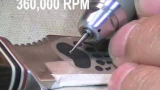 Knife Engraving
