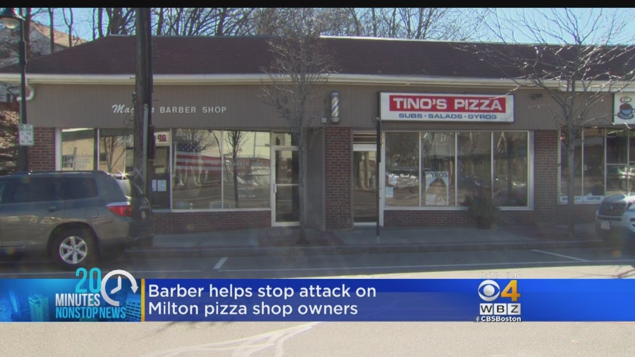 Milton Barber Helps Stop Teens From Attacking Pizza Shop Owners