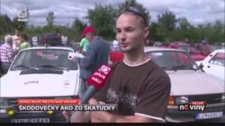 2.CS Škoda zraz - Reportáž z 16.8.2014 (TV JOJ)