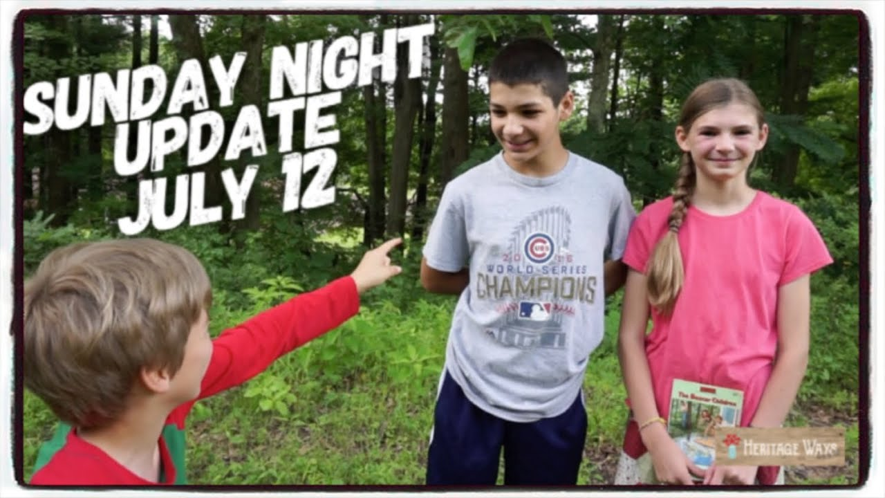Sunday Night Show and Tell Update July 12 2020