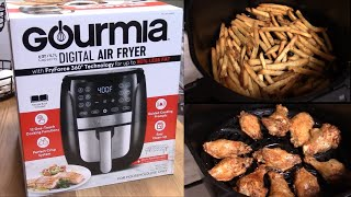 Review of Gourmia 6 Qt Air Fry…