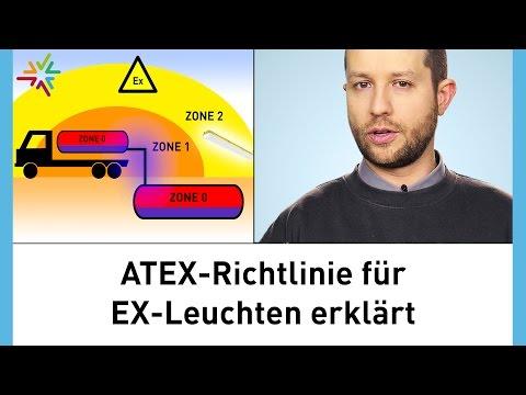 EX-Leuchten - Klassifizierung explosionsgeschützter Leuchten erklärt - Die ATEX Richtlinie