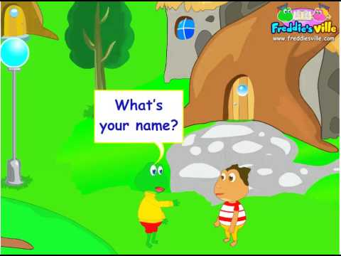 What's your name?, Self-introduction Lesson, English for Children