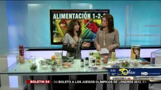 Luz Maria Briseno en el Canal 34