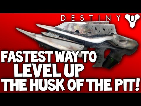 Destiny how to find husk of the pit rifle and upgrade to