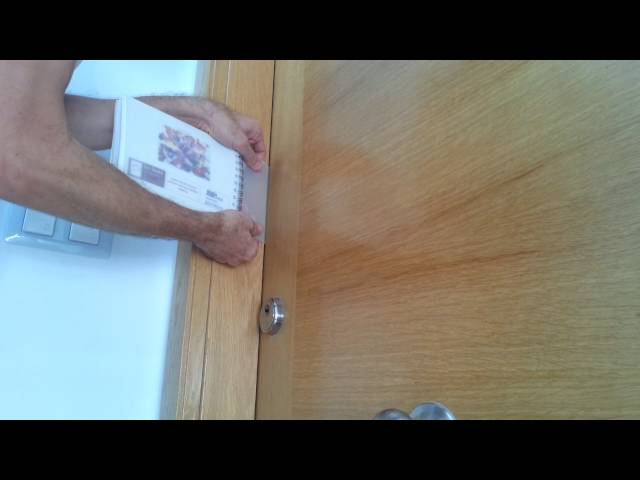 Como puedo abrir una puerta si perdi la llave