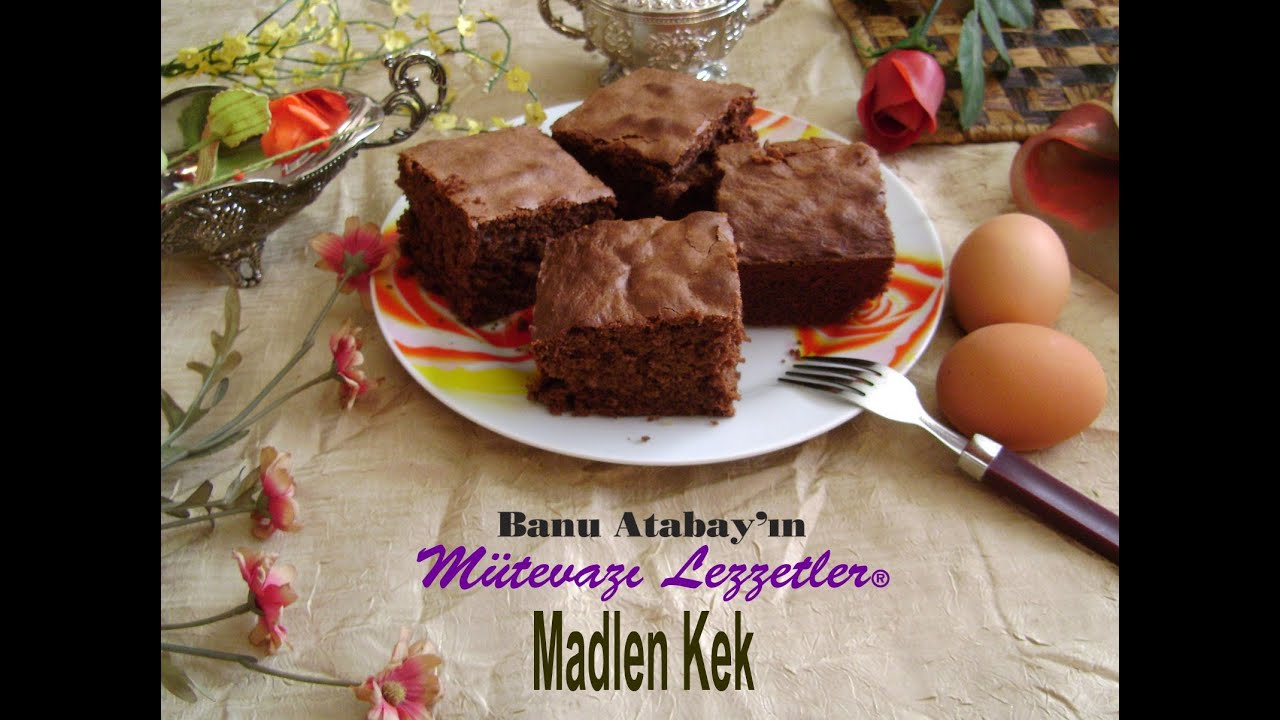 Madlen Kek (Kek Tarifleri) - YouTube