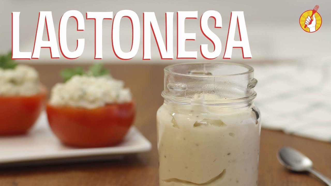 Receta mayonesa casera con leche
