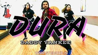 Dura - Daddy Yankee | Easy Step |  Zumba Dance Choreography ( Studio XD )
