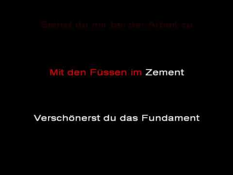 Rammstein - Stein Um Stein  (instrumental with lyrics)