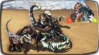 АРК приручаем скорпиона Приручаем Дилофозавров Ошибка в одно яйцо при приручении Овираптора 4