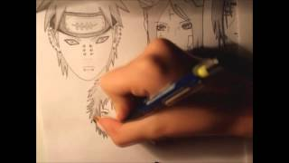 drawing akatsuki faces