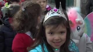 Crianças sairam às ruas de Guimarães para comemorar o Carnaval