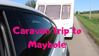 Caravan Trip to Maybole, Ayrshire | Culzean Castle Club Site