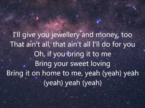 Sam Cooke - Bring It On Home To Me Lyrics