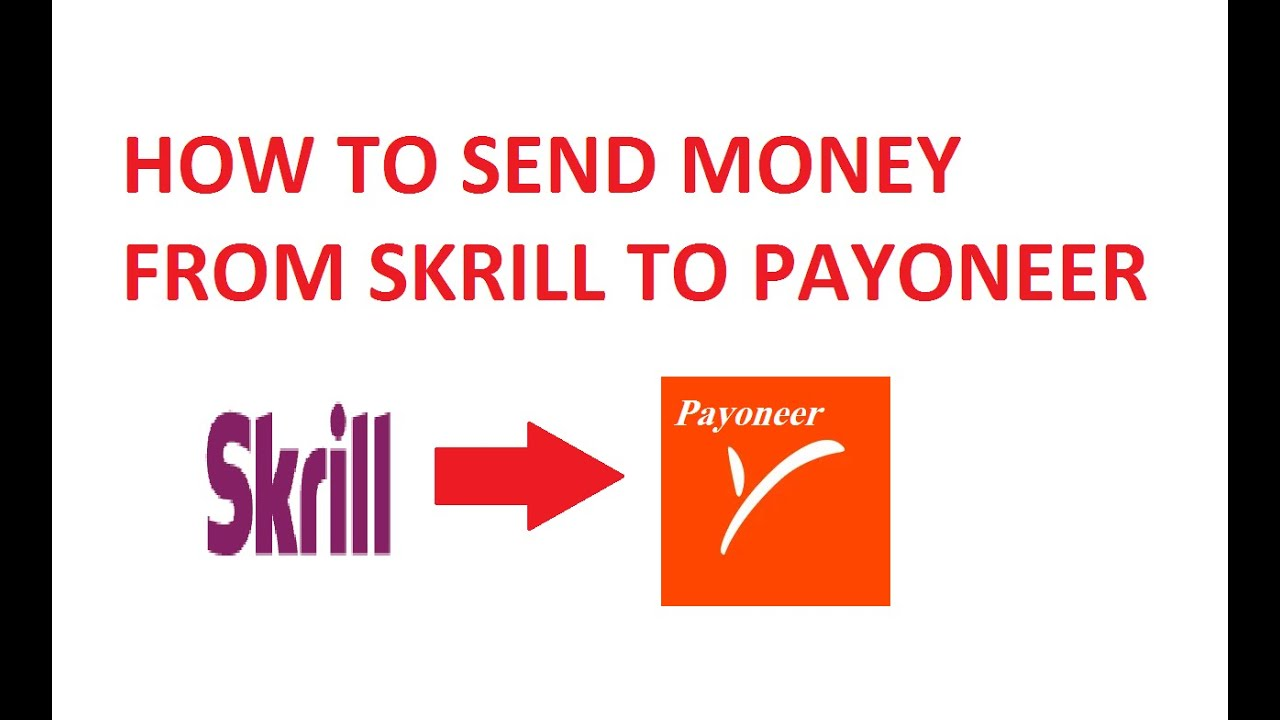 How To Transfer Money To Skrill