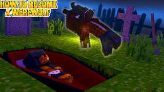 HOW TO BECOME A WEREWOLF IN MINECRAFT - Modded adventure