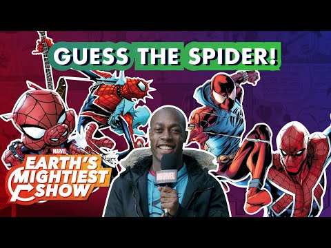 Can You Name All These Spider-People? | Earth's Mightiest Show Bonus