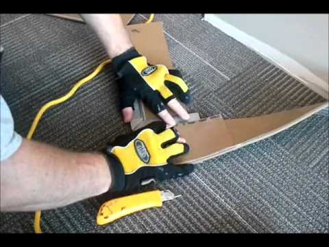 trican carpet base installation - YouTube