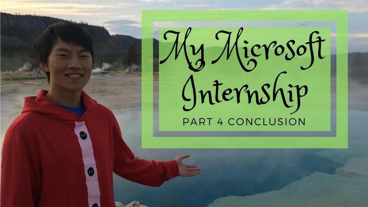 internship microsoft