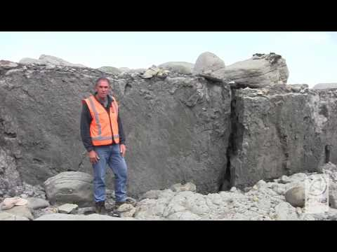 Kaikoura Earthquake 2016: Paptea Fault Rupture