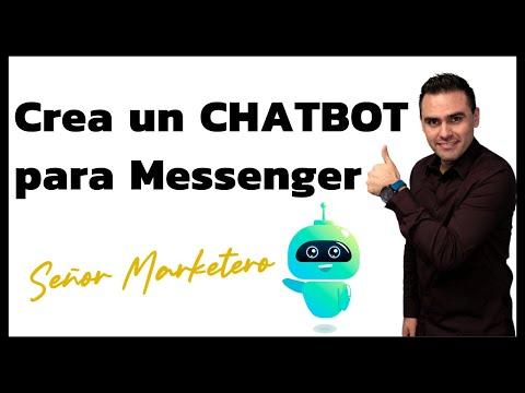Cómo Crear Un CHATBOT En Facebook Messenger Para Captar Leads [Tutorial]