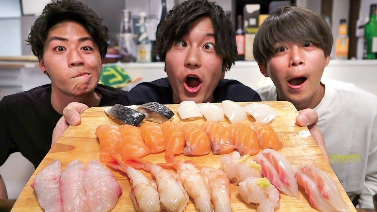 【卒アル公開】家で寿司食べながら語り合ってみた