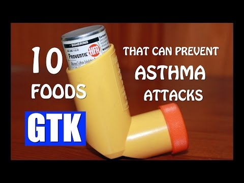 10 FOODS THAT PREVENT ASTHMA ATTACKS -