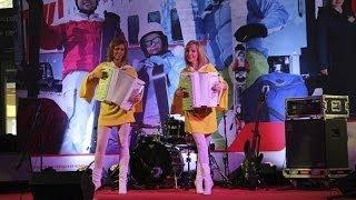 Аккордеон в России!!! дуэт ЛюбАня/ duet LiubAnya DEMO