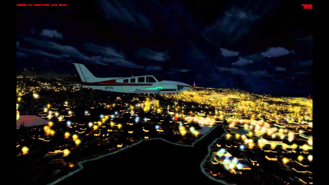 Prepar3D V2 0 with FTX Global 1 1 - Night Life by Robin Ainscough