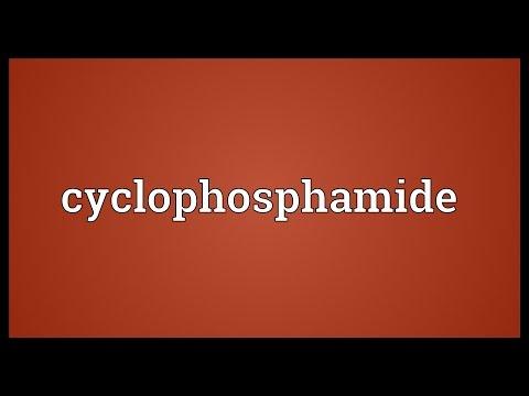 Cyclophosphamide Cytoxan