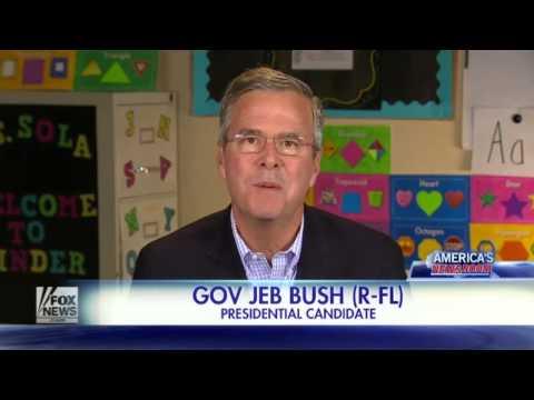 Jeb Bush Fires Back at Donald Trump! FULL hd