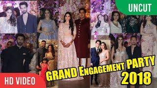 UNCUT - Akash Ambani-Shloka Mehta Engagement Grand Party | Shahrukh, Kajol, Aishwarya, Shahid & More
