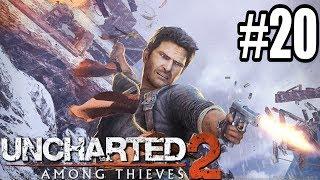 NAJEMNICY? POTWORY? Z KIM WALCZYĆ?! - Let's Play Uncharted 2: Pośród Złodziei #20 [PS4]