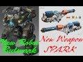 War Robots Test Server 3.9.0 (441) | New Robot Bulwark | | Light weapon Spark |