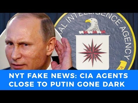 New York Times and CIA push ridiculous Putin 'missing spy' story