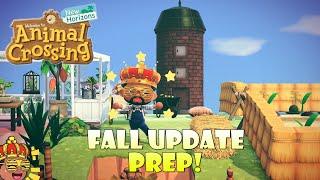 Preparing for the Fall Update! | Animal Crossing New Horizons