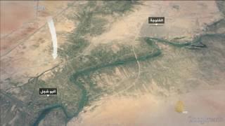 اقتراب القوات الأمنية من الخط السريع بأطراف الفلوجة
