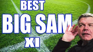 SAM ALLARDYCE Best Club XI
